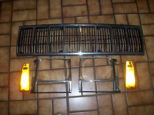 1984-1993 Jeep Cherokee Grille & Headlight Bezels 84 85 86 87 88 89 90 91 92 93