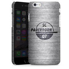 Apple iPhone 6 Premium Case Cover - SC Paderborn Metall