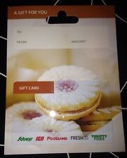 """SOBEYS GROCERY STORE CANADA COLLECTIBLE GIFT CARD """"JELLY COOKIES"""" NO VALUE NEW"""