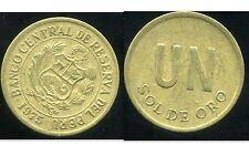PEROU  1 sol de oro 1975  ( bis )