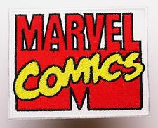 MARVEL COMICS Company / Movie Logo - Iron-On Embroidered Patch - NEW