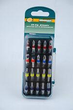 Bit de alta calidad Mannesmann Juego de 20 piezas de herramientas de acero color codificado <> S2 GS TUV