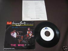 "The Who Happy Japan Promo WL Vinyl 7"" Townshend MOD"