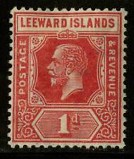 Leeward Islands  1921-32  Scott # 63  Mint Lightly Hinged