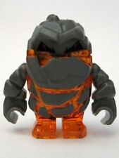 LEGO Power Miners - Rock Monster - Firox (Trans-Orange) Mini Figure