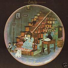 "P. Buckley Moss Ltd Ed Collector Plate ""HELLO GRANDMA"" NIB w/Certificate"