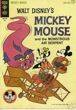 RARE GK COMIC WALT DISNEY'S MICKEY MOUSE #88, NM