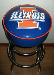 University of Illinois Fighting Illini Bar Stools