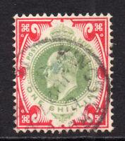 Great Britain 1/- Stamp c1902-10 Used (2074)