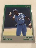RARE Bo Jackson 1990 Star Company Misprint of Bo In Royals Uniform-10 of 11 Mint
