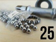 "(25) 1/4"" Inch Steel Bearing Balls campagnolo shimano suntour bottom bracket"