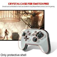 Crystal Case Hard Controller Protective Cover For Nintend Pro Switch O6T6