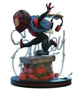Quantum Mechanix Spider-Man Miles Morales Q-Fig Elite Diorama Figure