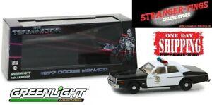 Greenlight #86534 1:43 The Terminator (1984) 1977 Dodge Monaco Police car