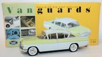 Vanguards 1/43 Scale Diecast VA06402 - Vauxhall PA Cresta - Yellow / White