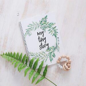 Baby Journal, Minimalist Baby Book, Baby Shower Gift, Baby Album