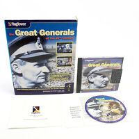 The Great Generals Of The 20th Century for PC CD-ROM, 1996, VGC, CIB