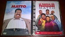 2 DVD / IL PROFESSORE MATTO / LA FAMIGLIA DEL PROFESSORE MATTO / EDDIE MURPHY