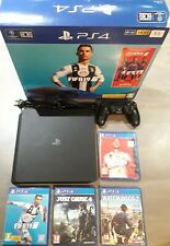 Console Playstation PS4 Slim 1 To + 4 jeux dont FIFA 20