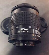 Obiettivo aotofocus Nikon 28-80mm f3.5-5.6