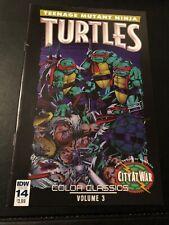 IDW Comics Teenage Mutant Ninja Turtles Issue 14 Color Classics Vol. 3 Feb 2016