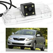 4 LED Car Rear View Camera Reverse Backup CCD for Toyota Corolla Sedan 2009-2013