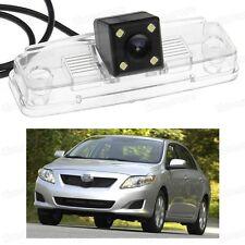 4 LED Car Rear View Camera Reverse Backup CCD for Toyota Corolla Sedan 2009-2013