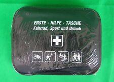 Leina Erste Hilfe Tasche 15 teilig schwarz Wandern Fahrrad Sport Urlaub