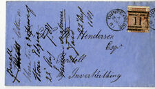 Great Britain Stamps #79 Used in Scotland on 1881 Cover, Vf