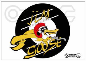 Mad Max Jim Goose kwaka sticka - Round Cut - XX Large Sticka