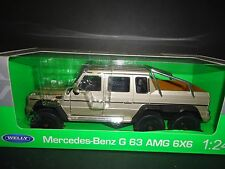 Welly Mercedes Benz G63 AMG 6x6 2015 Champagn 1/24