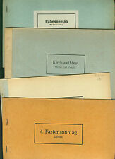 Church Songs Sheet Music Lyrics to measure Whitsun Kirch consecration Easter lichtmeß UM 1960