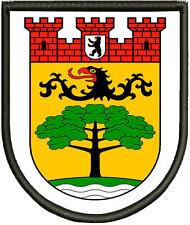 Steglitz-Zehlendorf Wappen der Bezirke Berlins  Aufnäher, Pin ,Aufbügler.