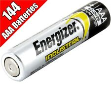 144 Energizer Industrial AAA batteries LR03 1.5V EN92