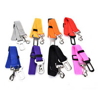 Adjustable Car Safety Seat Belt Harness Restraint Lead Travel Clip For Pet D RAS