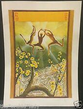 Vintage GLORIA JOY California Artist Lithograph Print Spiritual Art HAND SIGNED