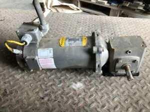 Boston Gear 0.33HP Gear Drive/Speed Reducer w/ Brake 1750RPM 90VDC 20:1