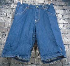 6636696c20c Vtg Nike Jeans Shorts Air Jordan Size 28R Embroidered HIGH Blue