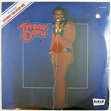 TYRONE DAVIS Without You In My Life LP (1973) NORTHERN SOUL (STILL SEALED)