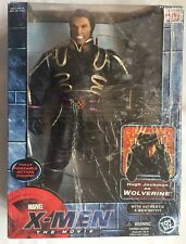 NEW X-Men the Movie Hugh Jackman as Wolverine Toy Figure w Authentic Xmen Outfit