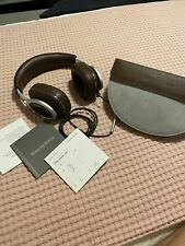 Bowers & Wilkins P9 Signature Over-Ear Headphones, Brown, Used Only Couple Times