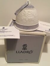 Lladro 1993 Christmas Bell Ornament Figurine Mint In Box
