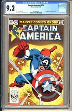 Captain America #275  CGC 9.2 WP NM-  Marvel Comics 1982  1st app Baron Zemo II