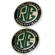 RE Logo Fuel tank Decal Badge Emblem Set Adhesive For Royal Enfield Bike @us