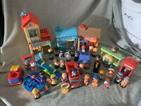 Elc Happyland Village Bundle - Bakery, Police Station, Village Vets, Plane, Park