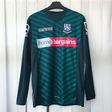 Carbrini TRANMERE ROVERS Kids Football Goalkeeper Shirt Top Size XLB 12-13 Years