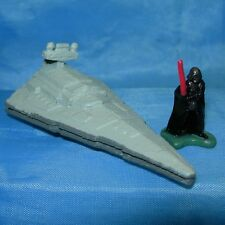 Star Wars Micro Machines Imperial STAR DESTROYER & Darth Vader Galoob 1993 Lot