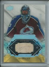 2019/20 UD Engrained Patrick Roy Colorado Avalanche Remnants Stick #/100
