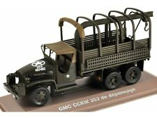 GMC CCKW 353, Military Vehicle Car Model 1:43, Atlas Magazine Model
