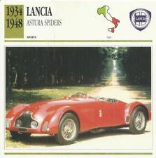 Spider Lancia Car Manuals and Literature